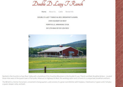 Double D Lazy T Ranch