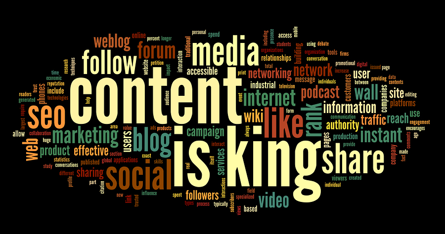 content is still king on the web
